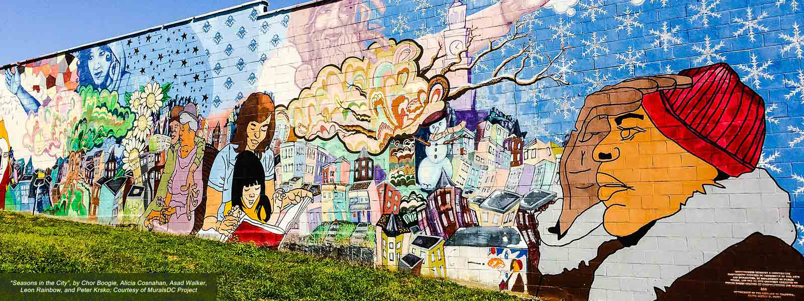 Seasons in the City, Chor Boogie, Alicia Cosnahan, Asad Walker, Leon Rainbow, Peter Krsko, MuralsDC Project